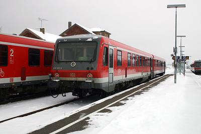 628 300 at Walldurn on 19th February 2005
