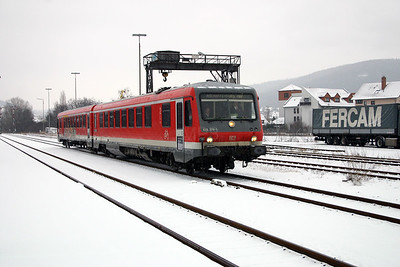 628 270 at Miltenberg on 19th February 2005