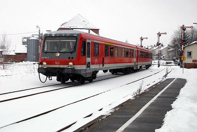 928 300 at Walldurn on 19th February 2005