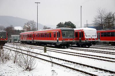 928 311 at Miltenberg on 19th February 2005