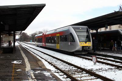 BLE, 509 112 at Nidda on 20th February 2005