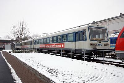 KVG, VT81 at Schollkrippen on 20th February 2005