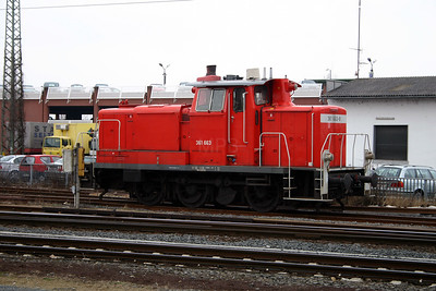 361 663 at Gieben (Giessen) on 21st February 2005