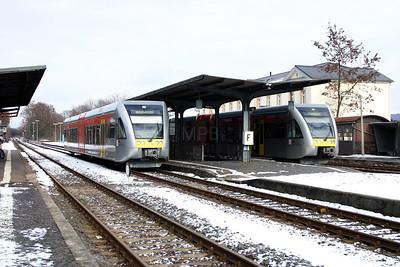 BLE, 508 113 & 509 112 at Nidda on 20th February 2005