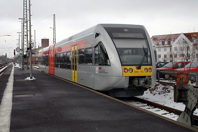 BLE, 508 113 at Gelnhausen on  20th February 2005 (2)