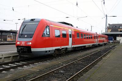 612 145 at Gieben (Giessen) on 21st February 2005