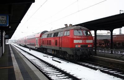 218 429 at Hanau Hbf on 20th February 2005