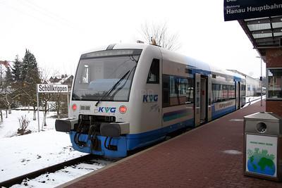 KVG, VT97 at Schollkrippen on 20th February 2005