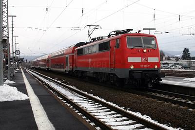 111 189 at Gelnhausen on  20th February 2005