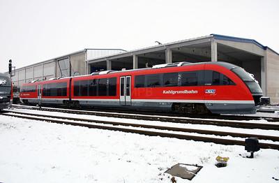 KVG, VT2000 (642 651) at Schollkrippen on 20th February 2005