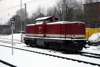 Hochwaldbahn, 212 301 at Neckargemund on 19th February 2005