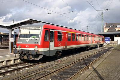 928 434 at Gieben (Giessen) on 20th February 2005
