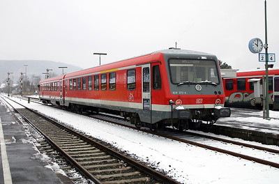928 272 at Miltenberg on 19th February 2005