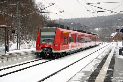 425 202 at Seckach on 19th February 2005