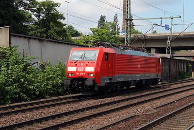 3) 189 008 (91 80 6189 008-6 D-DB) at Hamburg Harburg on 15th July 2013