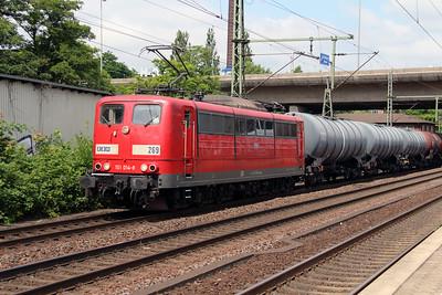 RBH, 269 (91 80 6151 014-8 D-RBH) at Hamburg Harburg on 15th July 2013