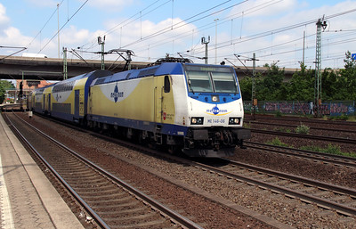 ME, 146-06 (91 80 6146 506-1 D-ME) at Hamburg Harburg on 15th July 2013 working MEr81617