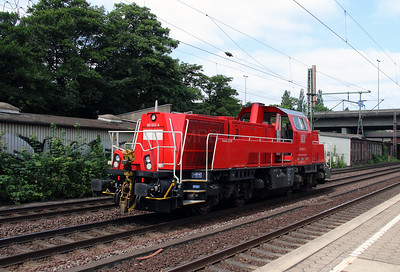 261 033 (92 80 1261 033-5 D-DB) at Hamburg Harburg on 15th July 2013