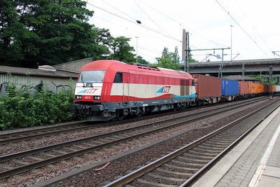 2) EVB, 420 13 (92 80 1223 033-3 D-EVB) at Hamburg Harburg on 15th July 2013