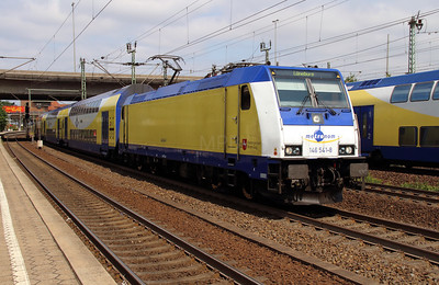 ME, 146 541 (91 80 6146 541-8 D-ME) at Hamburg Harburg on 15th July 2013 working MEr81615
