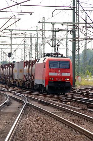 152 141 (91 80 6152 141-8 D-DB) at Hamburg Harburg on 15th July 2013