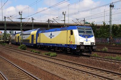 ME, 146 539 (91 80 6146 539-2 D-ME) at Hamburg Harburg on 15th July 2013 working MEr81914