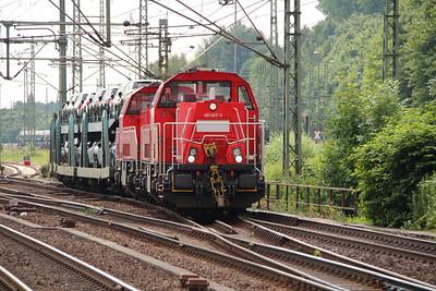 1) 261 067 (92 80 1261 067-3 D-DB) at Hamburg Harburg on 15th July 2013