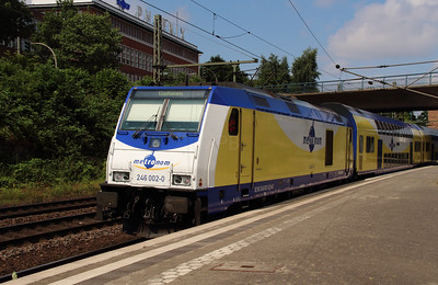 ME, 246 002 (92 80 1246 002-0 D-ME) at Hamburg Harburg on 15th July 2013 working ME81519