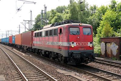 2) EGP, 140 857 (91 80 6140 857-4 D-EGP) at Hamburg Harburg on 15th July 2013