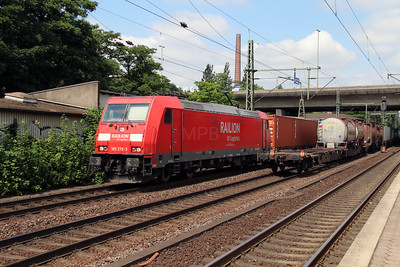 185 276 (91 80 6185 276-3 D-DB) at Hamburg Harburg on 15th July 2013