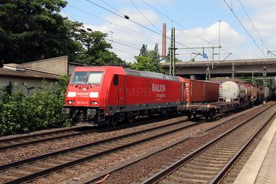 185 276 (91 80 6185 276-3 D-DB) at Hamburg Harburg on 15th July 2013