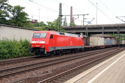 152 008 (91 80 6152 008-9 D-DB) at Hamburg Harburg on 15th July 2013