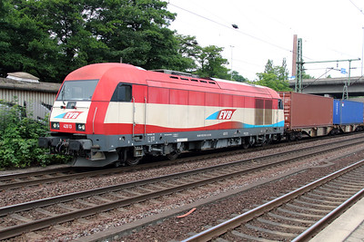 1) EVB, 420 13 (92 80 1223 033-3 D-EVB) at Hamburg Harburg on 15th July 2013
