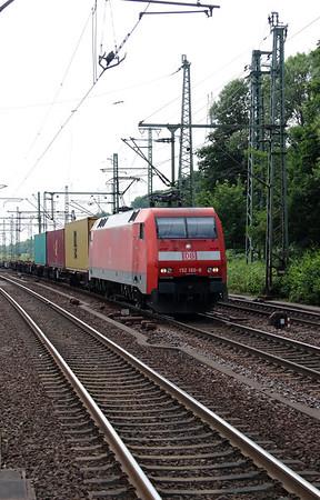 152 160 (91 80 6152 160-8 D-DB) at Hamburg Harburg on 15th July 2013