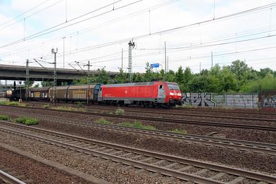 1) EG, 3110 (91 86 0103 110-0 DK-RSC) at Hamburg Harburg on 15th July 2013