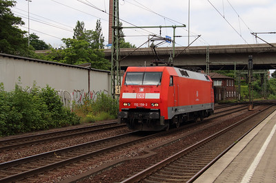 152 158 (91 80 6152 158-2 D-DB) at Hamburg Harburg on 15th July 2013