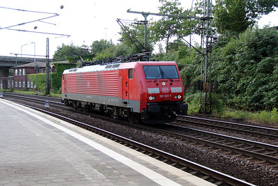 1) 189 003 (91 80 6189 003-7 D-DB) at Hamburg Harburg on 6th August 2013