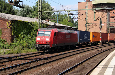 145 071 (91 80 6145 071-7 D-DB) at Hamburg Harburg on 6th August 2013