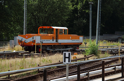 1) Hamburg U Bahn, 012-1 at Barmbek on 6th August 2013