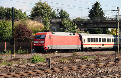101 092 (91 80 6101 092-5 D-DB) at Rotenburg (Wumme) on 6th August 2013