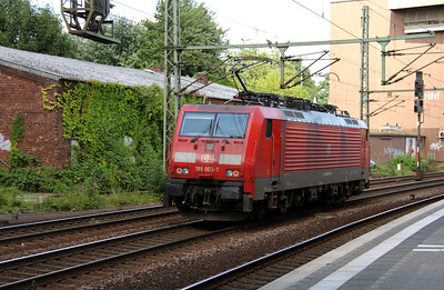 2) 189 003 (91 80 6189 003-7 D-DB) at Hamburg Harburg on 6th August 2013