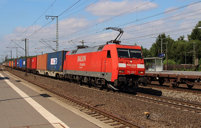 152 113 (91 80 6152 113-7 D-DB) at Rotenburg (Wumme) on 6th August 2013
