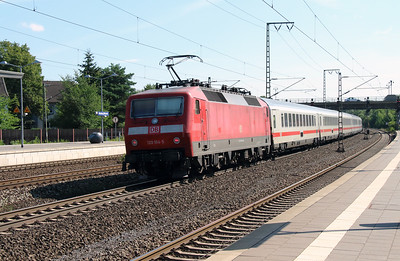 120 104 (91 80 6120 104-5 D-DB) at Rotenburg (Wumme) on 6th August 2013