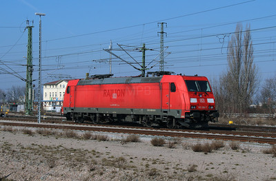 185 298 (91 80 6185 298-7 D-DB) at Erfurt Hbf Depot on 18th March 2016 (3)