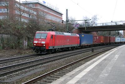 145 001 (91 80 6145 001-4 D-DB) at Hamburg Harburg on 19th March 2016 (1)