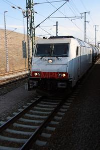 HSL, 285 102 (92 80 1285 102-0 D-HSL) Outside Erfurt Hbf Depot on 18th March 2016 (2)