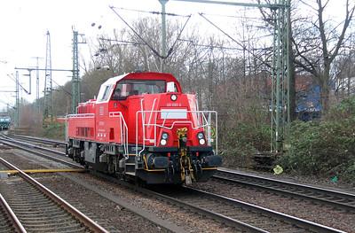 261 099 (92 80 1261 099-6 D-DB) at Hamburg Harburg on 23rd March 2016 (5)