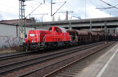 261 099 (92 80 1261 099-6 D-DB) at Hamburg Harburg on 23rd March 2016 (3)