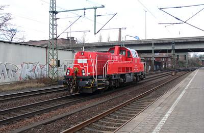 261 099 (92 80 1261 099-6 D-DB) at Hamburg Harburg on 23rd March 2016 (6)