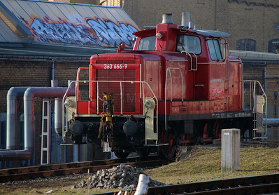 RPRS, 363 666 (92 80 3363 666-9 D-RPRS) at Leipzig Hbf Depot on 18th March 2016 (2)
